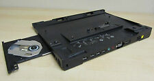 LENOVO IBM THINKPAD ULTRABASE docking station X220 04W6846 avec graveur DVD