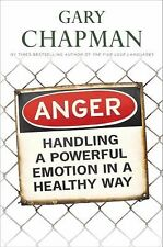 ANGER Handling a Powerful Emotion in Healthly Way Gary Chapman FREE USA SHIPPING
