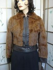 PRE-OWNED SQUIRREL FUR COAT FOR WOMEN SZ 2