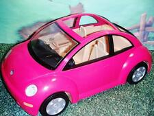Fisher Price Loving Family Dollhouse Pink Volts Wagon Beetle Bug Car Vehicle Toy