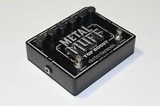 Electro Harmonix Metal Muff Top Boost Distortion Guitar Pedal WORLDWIDE SHIPPING
