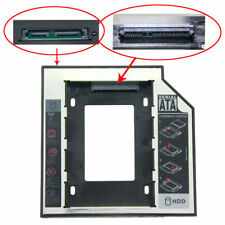 12.7mm 2nd Hard Drive DVD Bay Caddy SATA to SATA For Laptop Acer/Asus/Dell/Sony