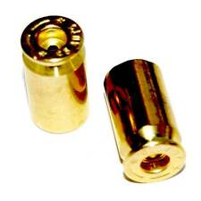 "2 Real 45 Auto ""Brass"" Custom Valve Stem Caps for Motorcycle & Bicycle Rims"