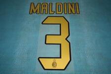 ITALIAN SERIE A 2004-2007 AC MILAN #3 Maldini Homekit Name Set Printing