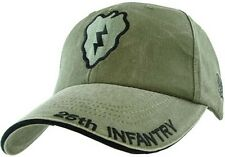 US ARMY 25th INFANTRY - U.S. Army OD Green Military Baseball Cap Hat