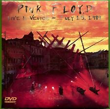 Pink Floyd LIVE IN VENICE - JULY 15, 1989 2CD/DVD NTSC sealed Gatefold sleeve