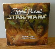 "1997 ""Star Wars Trivial Pursuit"" Classic Trilogy Collectors edition"