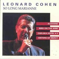 Leonard Cohen So Long Marianne CD NEW SEALED Suzanne/Bird On The Wire+