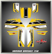 YAMAHA BANSHEE 350SEMI CUSTOM GRAPHICS KIT SPECIAL ED