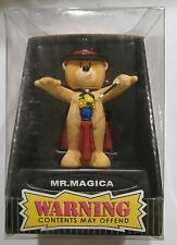 """Bad Taste Bears """"MR.MAGICA"""" Novelty Collectible NIB Warning Contents May Offend"""