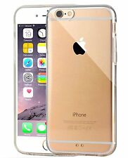 High Quality Crystal Clear Slim TPU Rubber Case Cover For iPone 6S 6 4.7""