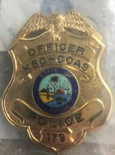 Obsolete Kennedy Space Center/Cape Canaveral Air Station Security Police Badge