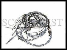 Vespa Throttle Gear Speedo Brake Control Cable Kit VBB VNB Super 125 150 Sprint