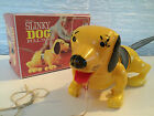 "ULTRA RARE SLINKY DOG PULL TOY IN ORIGINAL BOX, ""the name's JAMES"""