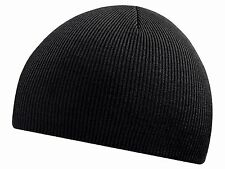 Knitted Men's Beanie Hat Ski Skull Cap Work Snow Drivers Hats UK Seller