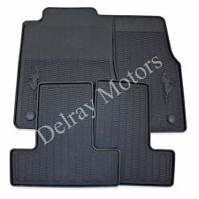 ALL WEATHER VINYL RUBBER SLUSH FLOOR MAT KIT 2011-2014 FORD MUSTANG BRAND NEW
