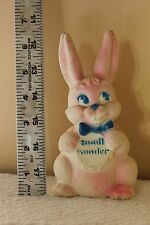 Vintage Shaklee Products 1970's Vinyl Rubber Bunny Rabbit Squeak Toy
