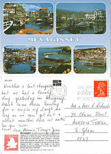 1990's MULTI VIEWS OF MEVAGISSEY CORNWALL COLOUR POSTCARD