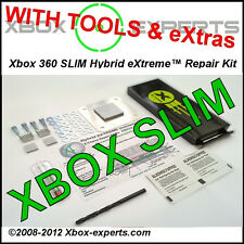 [Xbox 360 Slim] Hybrid eXtreme Uniclamp™ Repair Kit w/ Tools  RROD, X-Clamp