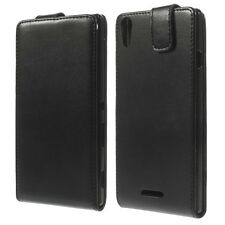 HOUSSE ETUI COQUE CUIR LUXE A RABAT SONY ERICSSON XPERIA T3