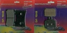 Ducati Disc Brake Pads 796 Monster/Hypermotard 2010-2014 Front & Rear (2 sets)
