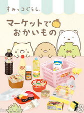 New Re-ment Miniature Sanrio Sumikko Gurashi Shopping Market Set of 8