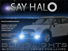 2011-2016 Mini Countryman Halo Fog Lamps Angel Eye Driving Lights Kit + Harness