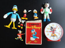 Lot de divers articles Walt Disney Mickey Figurines