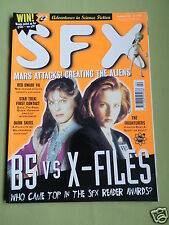 SFX- MAGAZINE -SCIENCE FICTION - FEB 1997  #22- BRENT SPINNER - ALICE KRIGE