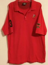 BEVERLY HILLS POLO CLUB RN 59786 - Red Golf/Polo shirt - Men's Size: XXL