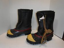 Iron Age ANZI Z41 PT91 Rubber Steel Toe Work Boots ~ Size 5