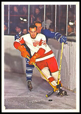 1963-64 TORONTO STARS IN ACTION PARKER MACDONALD DETROIT RED WINGS HOCKEY PHOTO