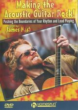 James Nash rendendo il ACUSTICA CHITARRA ROCK Impara Play waybacks MUSICA DVD