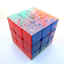 MoYu YULONG 2014 Speed Transparent Crystal ICE 3x3 3x3x3 Magic Cube Stickerless