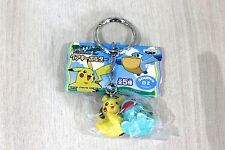 Officiel pokemon banpresto advanced generation keychain new pikachu & BuIbasaur