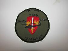 b9111 US Army Vietnam 52nd Aviation Battalion 174th AMC MACV Shark Flight  IR37E