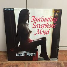 Japan SEXY CHEESECAKE COVER LP - Fascinating Saxophone Mood (SJET-7955)