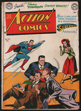 ACTION COMICS #139 Superman US DC Comics 1949 Rare Golden Age Comic Book Batman