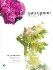 Nelson Psychology Vce Units 3 & 4 Student Book with 4 Access Codes by Helene...