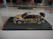 Ixo Ford Focus WRC #46 Monza Rally 2008 V. Rossi in White on 1:43 in Box