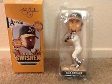 Oakland Athletics A's NICK SWISHER RIGHT HANDED BATTING BOBBLEHEAD BRAND NEW