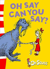NEW Dr Seuss OH SAY CAN YOU SAY A5 paperback