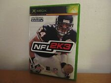 NFL 2K3   XBOX  GREAT CONDITION WITH MANUAL
