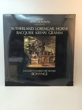 Sealed SET of 2 Vtg LP Vinyl Pavarotti BONYNGE Giovanni New Old Stock