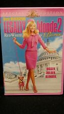 Legally Blonde 2: Red, White and Blonde (DVD, 2003, Valentine Faceplate Checkpoi