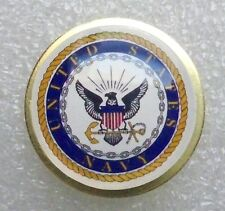 US Navy insignia lapel pin, proudly made in America