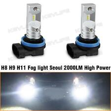 1Pair H8 H11 64212 Pure White LED Bulb OEM Replace for Fog Driving Light