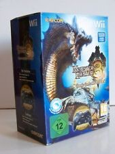 Pack neuf & scellé Monster Hunter Tri 3 + manette nintendo Wii