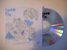 LUDO PIN : LE TEMPS NOUS DIRA [ CD SINGLE PORT GRATUIT ]