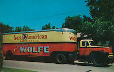 Unmailed chrome North American Van Lines Frank Wolfe Moving Texas TX